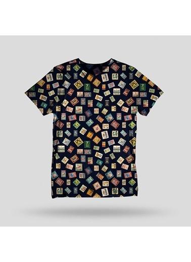 John Frank Tişört Renkli